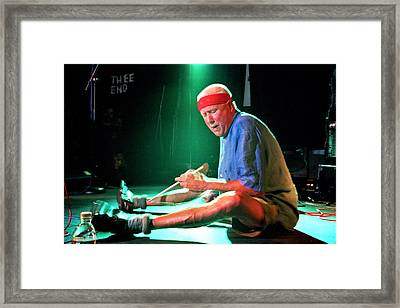 Han Bennink Framed Print