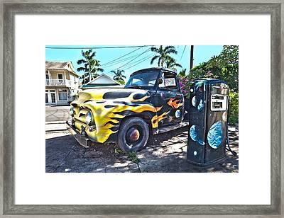 Hanapepe Truck Framed Print