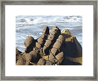 Framed Print featuring the photograph Hand Of Zeus by Nick Kloepping