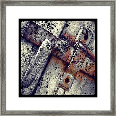 Handle Framed Print