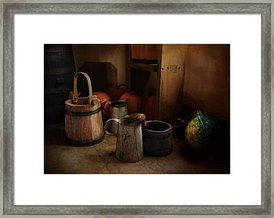 Handmade And Homegrown Framed Print by Robin-Lee Vieira
