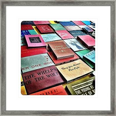 Handmade Magic Wallets Made From Framed Print