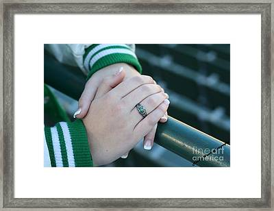 Framed Print featuring the photograph Hands Of Time by Michael Waters