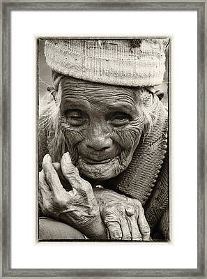 Hands Of Time Framed Print by Skip Nall