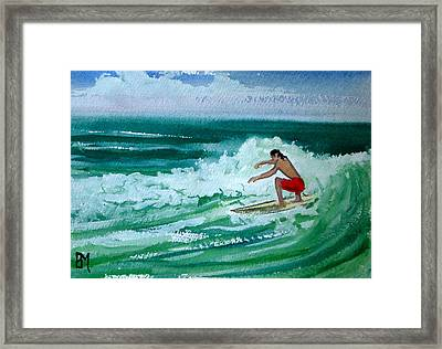 Hang Loose Framed Print by Pete Maier
