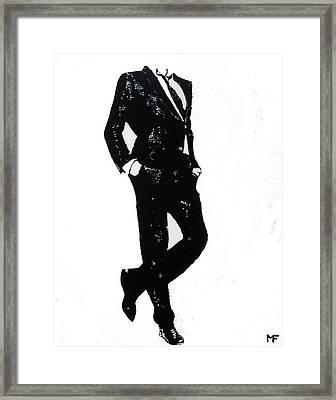 Hanging Around Framed Print by Matthew Formeller