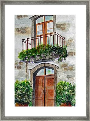 Hanging Garden Framed Print by Heidi Patricio-Nadon