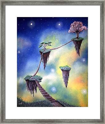 Hanging Together Framed Print by Edwin Alverio