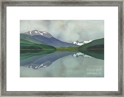 Hankin Lake Framed Print