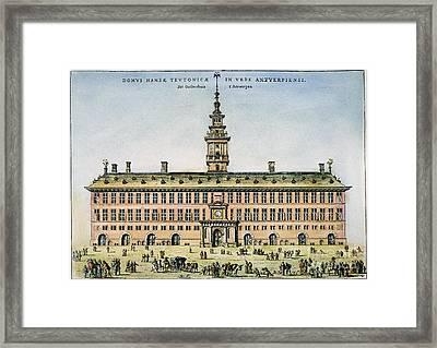 Hanseatic League, Antwerp Framed Print by Granger
