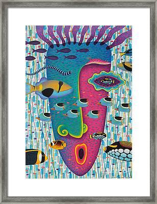 Happiness 3 Framed Print by Opas Chotiphantawanon