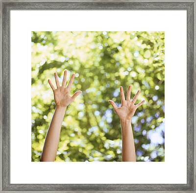 Happiness, Conceptual Image Framed Print by Cristina Pedrazzini