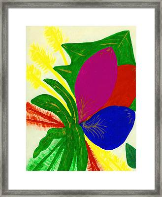 Happiness Framed Print by Ruth  El