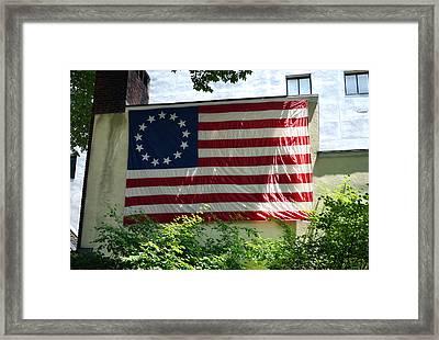 Happy 4th Of July Framed Print by Daniela Kriva