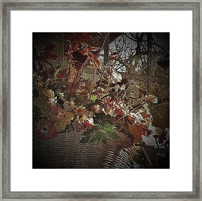 Happy Birthday Framed Print by Andrew Drozdowicz