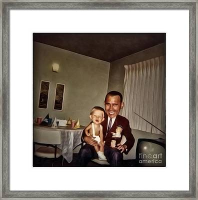 Happy Birthday Framed Print by Gregory Dyer