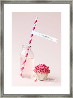 Happy Birthday Framed Print by Ruth Black