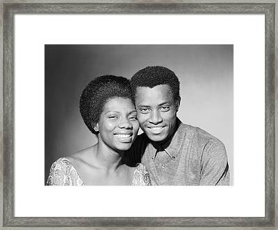 Happy Couple Framed Print by Chaloner Woods