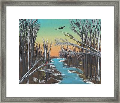 Framed Print featuring the painting Happy Day by Alys Caviness-Gober