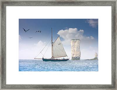 Happy Days Framed Print by Richard Piper