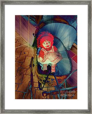 Happy Dolly Framed Print by Susanne Van Hulst