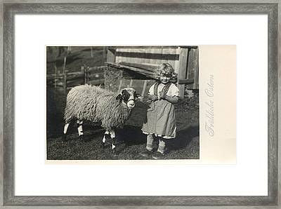 Happy Easter 1935 Framed Print