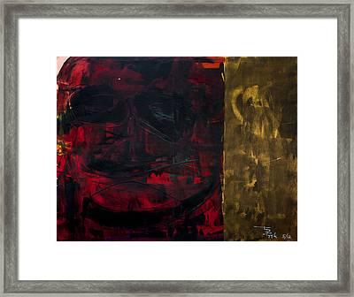 Happy Face Framed Print by Terrance Prysiazniuk