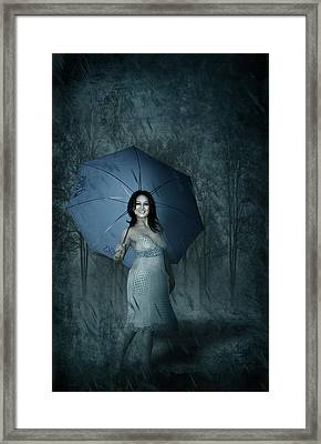 Happy Girl Framed Print by Svetlana Sewell