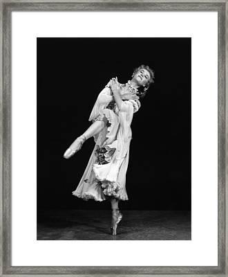 Happy Go Lovely, Vera-ellen,1951 Framed Print by Everett