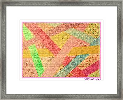 Happy Highways Framed Print by Debbie Portwood