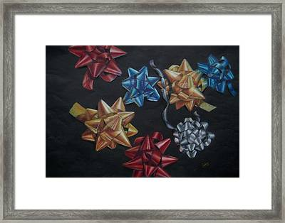 Happy Holidays Framed Print by Joanna Gates