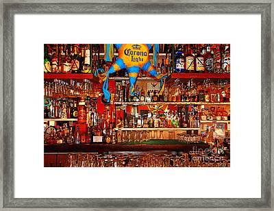 Happy Hour . 7d14187 Framed Print