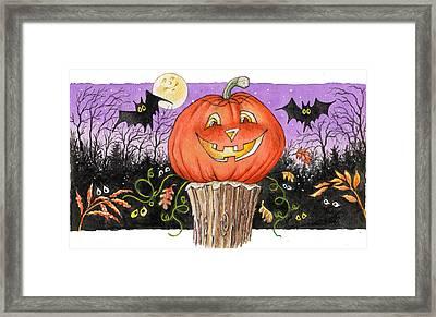Happy Jack Framed Print by Richard De Wolfe