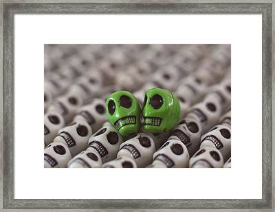 Happy Saint Patrick's Day Framed Print by Mike Herdering