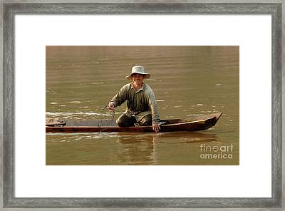 Happy To See You Framed Print by Bob Christopher
