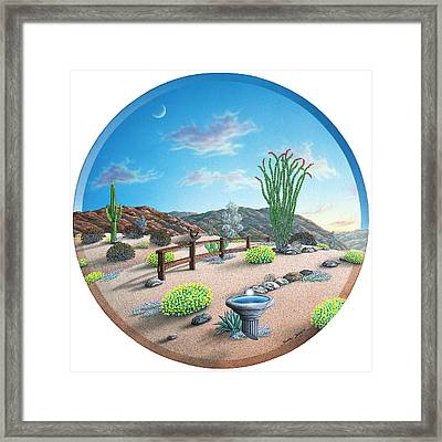 Happy Trail Framed Print by Snake Jagger