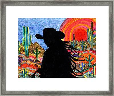 Happy Trails Framed Print