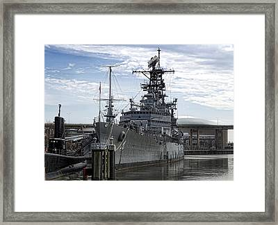 Harbor Queen 2 Framed Print by Peter Chilelli