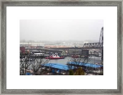 Harbor View Framed Print by Billie-Jo Miller
