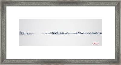 Harbor View Framed Print