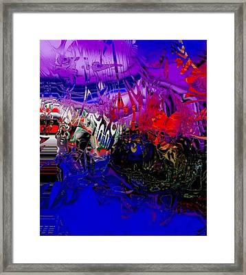 Harbour Framed Print by Oksana Linde
