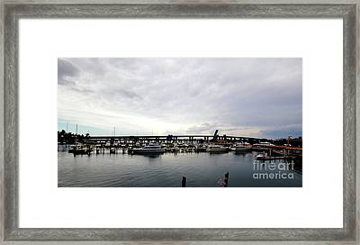 Framed Print featuring the photograph Harbours by Pravine Chester