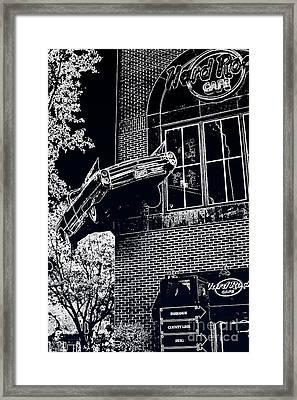 Hard Rock Caddy Framed Print by Joe Finney