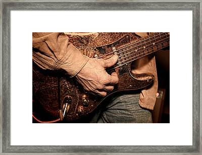 Hard Rock Framed Print