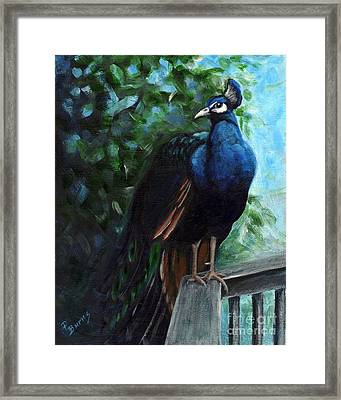 Hard To Camouflage Framed Print by Pat Burns