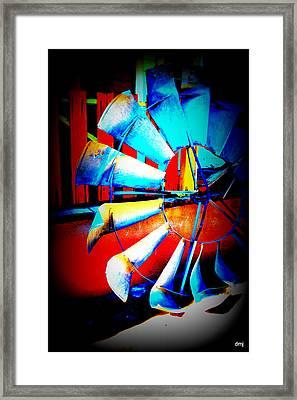 Harlequin Wind  Framed Print by Diane montana Jansson