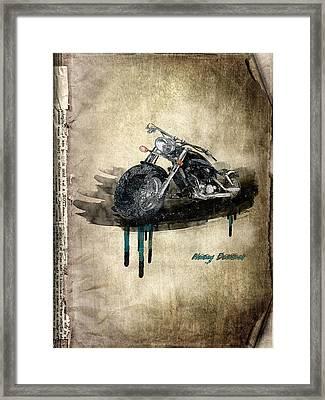 Harley Davidson Framed Print by Svetlana Sewell