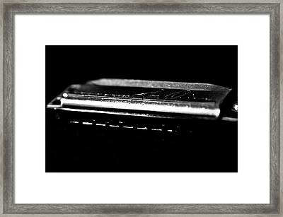 Harmonica One Framed Print