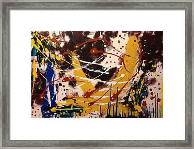 Harmonious Confusion Framed Print