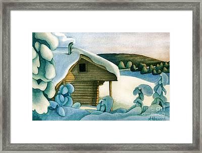 Harold Price Cabin Framed Print by Anne Havard